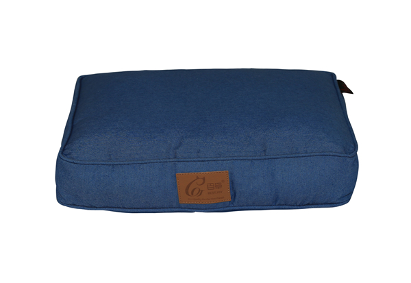Manufacturer Washable Removable Rectangle Urban Denim Pet Bed Sofa Dog Mat Cushion Cat Mattress Couch Pad Indigo Pet Bed Duvet Cover Zippered Floor Cushion for OEM ODM Wholesale