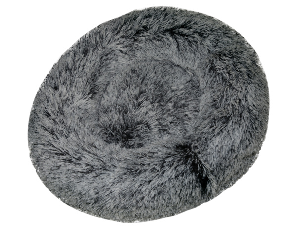 China Supplier Cheap Pet Bed House Round Dog Sofa Cushion Washable Cat Cuddler Bed Soft Pet Nesting Sofa Mat One-Piece Design Hot Sale OEM ODM for Wholesale