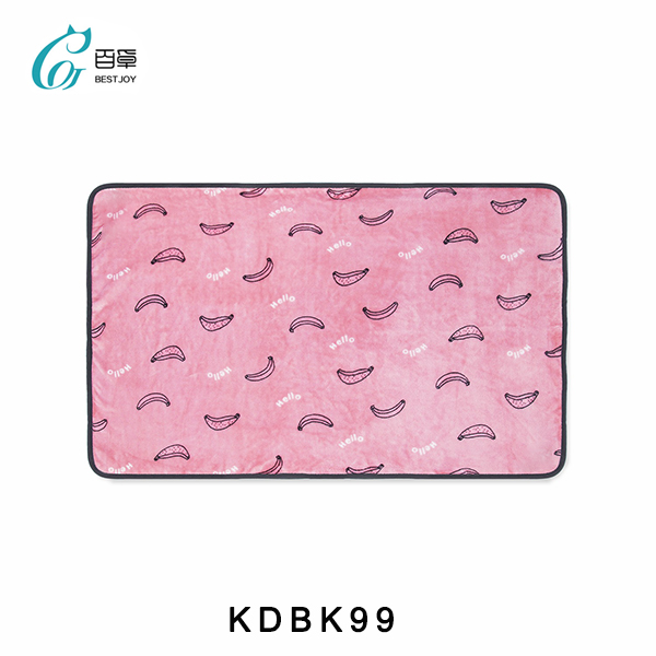 China Factory Direct Customized Pet Bed Blanket Coral Fleece Warm Blanket Handmade Soft Mat Blanket with Stylish Printing Pet Birthday Gift Blanket Home Decorative Indoor Winter Blanket OEM Wholesale
