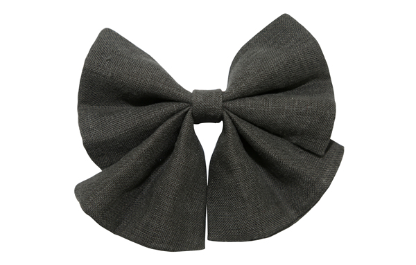 Designer Manufacturer Pet Dog Cat Big Sailor Bow Tie Novelty Collar Stonewashed Linen Bow Tie Charcoal Cat Bow Tie Handmade Dog Bow Tie Pet Accessories Necktie Slip onto Collar OEM for Wholesale