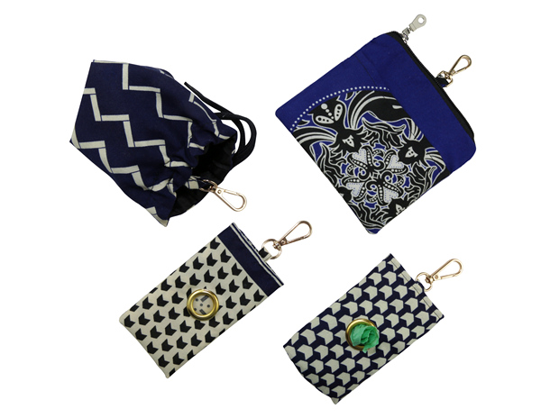 Bestjoy Chevron Print Navy Blue Poop Bag Holder Durable Adjustable String Closure Waterproof Lined Dog Waste Pouch Pet Waste Bag Dispenser Dog Walking Bag Pet Treat Bag Poop Bag Carrier Wholesale